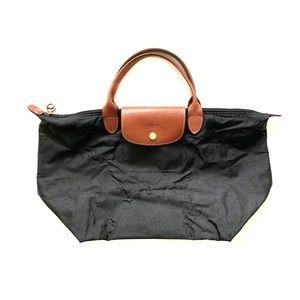 Longchamp Le Pliage Black Medium Tote